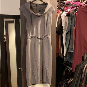 Tahiti ASL career grey dress work